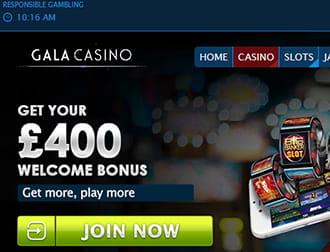 gala casino 20 get 80